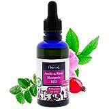 Aceite Rosa de Mosqueta ecológico puro 100% prensado en frío/Cicatrices/Piel/Cabello/Uñas producto cicatrizante natural
