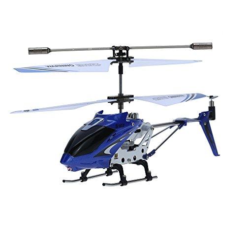 SYMA S107G Mini Helicóptero Gyro Azul