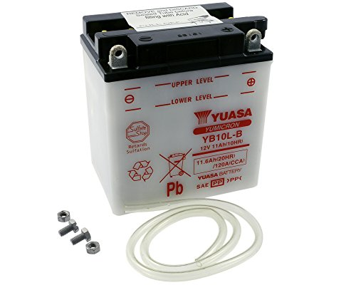 Batterie YUASA–yb10l-b für Piaggio X9, Evolution 125ccm Jahr der Konstruktion 00