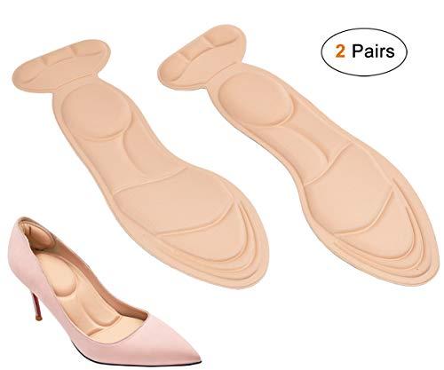 Viewm Heel Cushion Inserts Comfort Shoe Insoles Women Sponge Insoles for Heels Shoe Pads DIY...