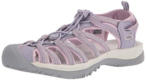 KEEN Women's Whisper Sandal, Lavender/Dawn Pink, 7