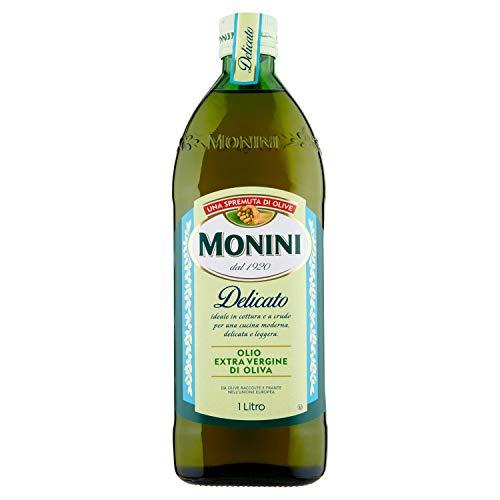 Monini Delicato Olio Extra Vergine di Oliva - 1 Bottiglia da 1000 ml