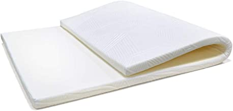 Tatami Futon Mattress, Dormitory Sponge Mat Single Double Mattress Soft Thicken Tatami Mattress Foldable Floor Mat Thick 3...