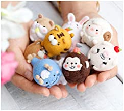 MANGMOC DIY Cute I Zodiac Rat Ox Tiger Rabbit Dragon Snake Goat Handmade Felted Wool Animal Stuffed Plush Toys Gift Must Haves for Kids Gift Wrap The Favourite DVD Superhero Cupcake Toppers UNbox Box