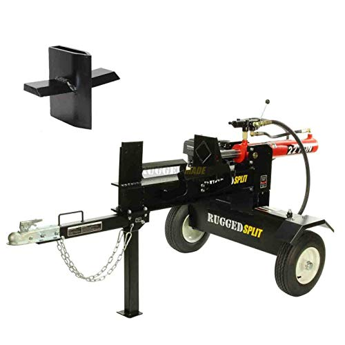 Learn More About RuggedMade 22 Ton Log Splitter with 212CC Electric Start Engine