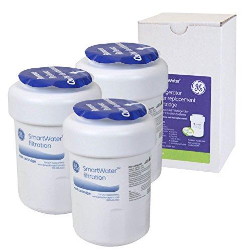 GE MWF SmartWater Waterfilter, intern filter, koelkastfilter voor General Electric koelkast, verpakking van 3