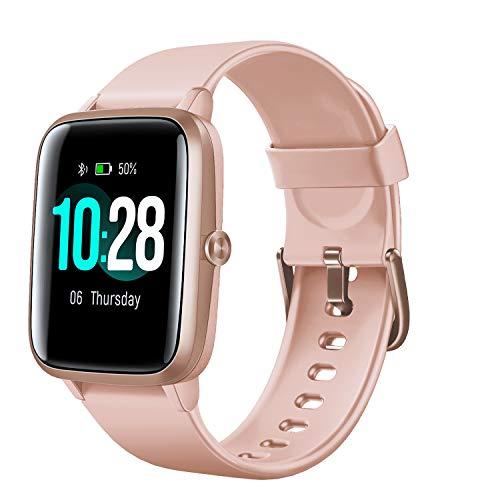 """Arbily Smartwatch, Reloj Inteligente Impermeable IP68 con Pantalla Táctil Grande de 1,3""""a Todo Color Seguimiento Fitness con Monitor de Frecuencia Cardíaca Monitor de Sueño Podómetro"""