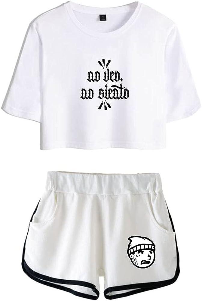 Tydres Gera MX 2 Piece Sets Hip Hop Short Sleeve Suit Womens Girl Set Casual Accessories Fashion Suit (WW-YM00722,M)