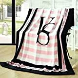Other Pink VS Secret Blanket Manta Fleece Blanket Throws on Sofa/Bed/Plane Travel Plaids Hot Limited Battaniye 130cmx160cm