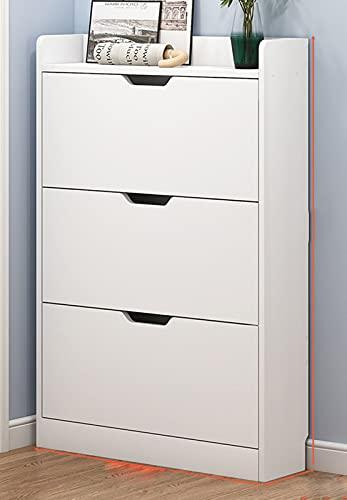 Armarios de almacenamiento de zapatos para porche de 3 niveles, armario, zapateros, organizadores, unidad, gabinetes de almacenamiento a prueba de polvo