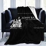 Dont Look Now John Baxter Fleece-Flanell-Überwurf, leicht, ultraweich, warm, für Sofa, 130 cm x 150 cm