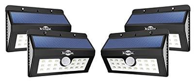 wall solar lights, sensor motion solar light for outdoor