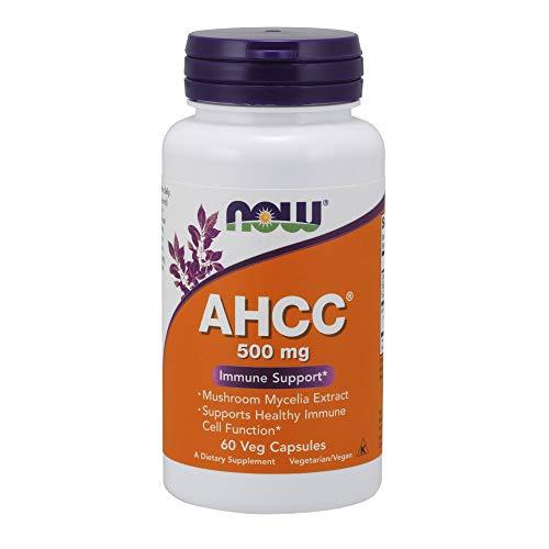 Now Foods I AHCC 500mg I Immunsystem-Unterstützung I 60 vegetarische Kapseln