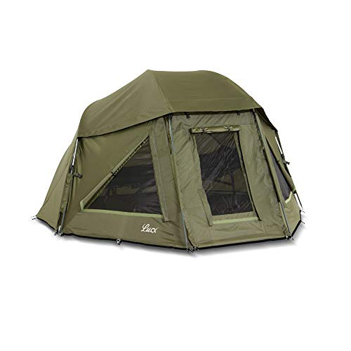 Lucx® Wolf umbrella tent Brolly Shelter fishing tent carp tent tent bivvy camping tent 10.000mm water column