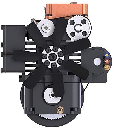 OKMIJN Motor De 4 Tiempos RC Motor De Metanol Motor Toyan para 1:10 1:12 1:14 RC Coche Barco Avión - Fs-S100