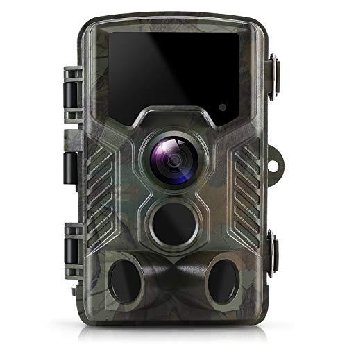 Wildlife Camera ZIMOCE 21MP 1080P Trail Camera Night Vision Motion IP66...