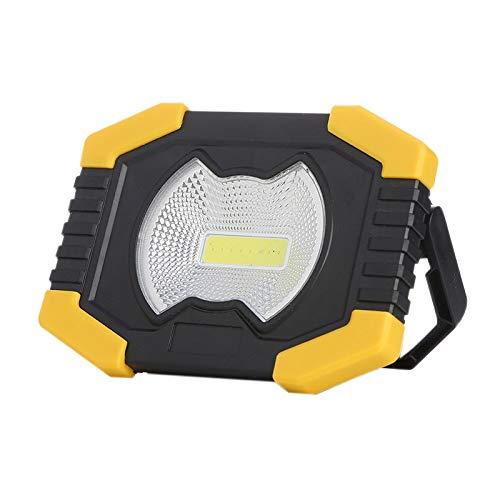 NEYOANN 50W Proyector PortáTil Luz Solar Luz de Trabajo LED Linterna Recargable USB
