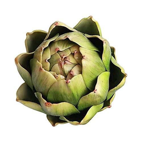 Cuisit Künstliche Artischocke Ananas Kopf Home Decoration Künstliche Grüne Pflanze Blume Topf Bonsai Ohne Topf,Gelbgrün 9 * 7CM