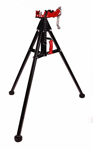 Toledo Pipe 425 Stand Portable Tripod Chain Vise works with RIDGID 12R 700 Pipe Threader