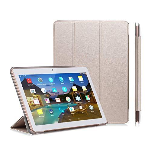 YOTOPT Funda para Tablet 10.1 / Solo 4G + 64G(K107),Oro