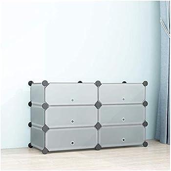 Simpdiy Portable Shoe Rack with Doors
