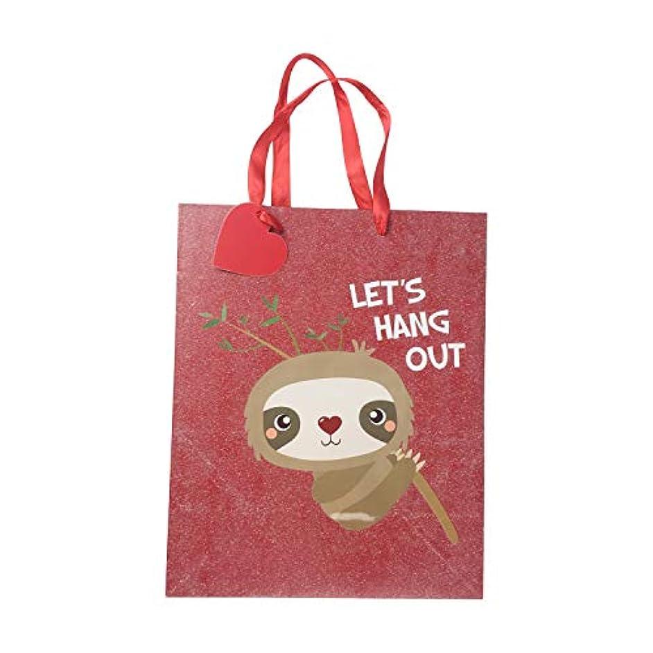 Valentines Day Sloth Medium Gift Bag