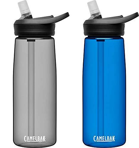 CAMELBAK Unisex Jugend Eddy+ Trinkflasche, Charcoal/Spectra, 750 ml