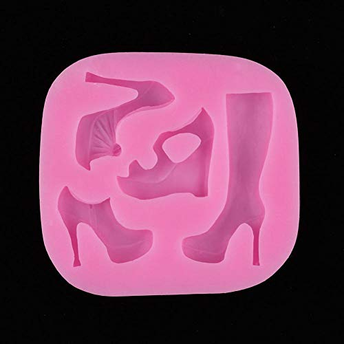 GJEFEGS Molde de Fondant de Silicona 3D Herramientas de decoración de Pasteles de Fiesta Cupcake Candy Jelly Chocolate Gumpaste Moldes