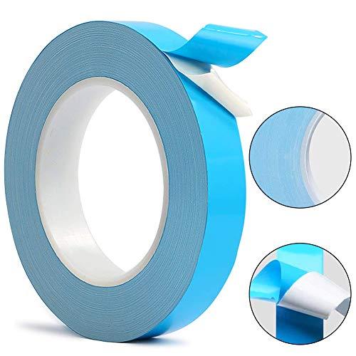 BETOY Thermisch Klebeband, Kühlband für Kühlkörper, Wärmeleitendes doppelseitiges Klebeband für Integrierte Schaltungen Kühlkörper Chipsatz LED(20mm *25m*0.2mm)