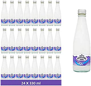 Highland Spring Water Still Glass - 330 ml (Pack of 24)