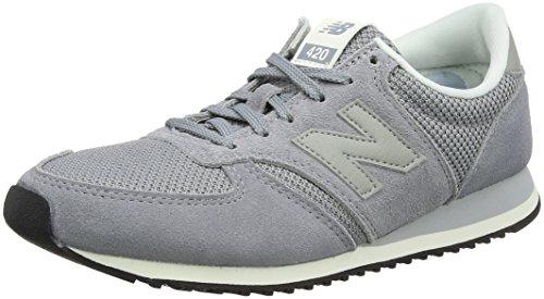 New Balance Damen 420 Sneaker, Grau (Steel), 37.5 EU