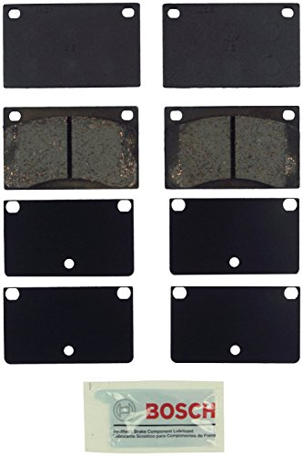 Bosch BE43 Blue Disc Brake Pad Set for Select 1968-93 Volvo 142, 144, 145, 164, 1800, 240, 242, 244, 245, 262, 264, 265, DL, GLE - FRONT