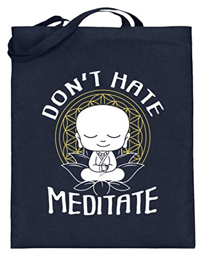Camiseta de Buda Meditation para meditar OM Yoga Zen, idea de regalo, budismo,...