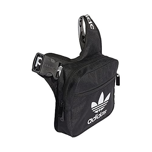 adidas Sling Crossbody Bag Tasche (one size, black/white)