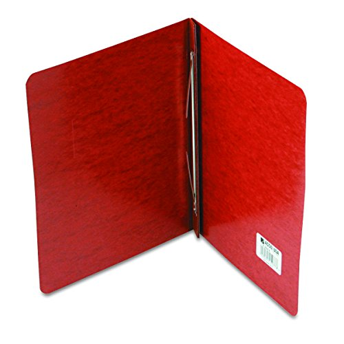 """ACCO 25978 Pressboard Report Cover, Prong Clip, Letter, 3"""" Capacity, Red"""