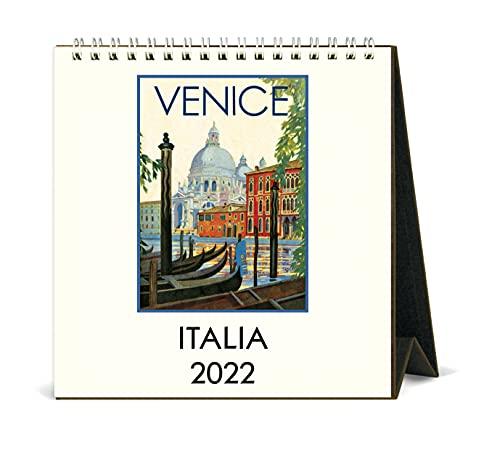 Cavallini Papers & Co, Italia Art 2022 Easel Calendar