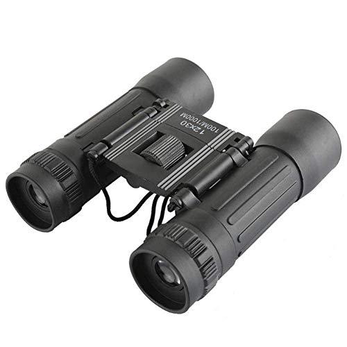 Beileshi mini 12x30 Compact Opvouwbare Verrekijker Telescoop met Waterdicht voor volwassenen/kinderen/buiten vogelen/reizen/sightseeing/jacht/vogelspotten