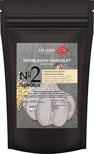 Knoblauch getrocknet und grob gehackt, 2-4mm, Knoblauch granuliert