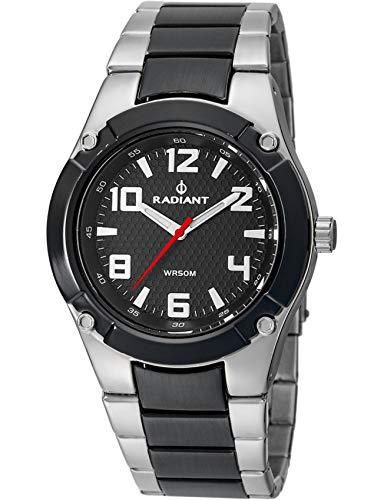 Radiant Reloj Analógico para Hombre de Cuarzo con Correa en Acero Inoxidable RA318201