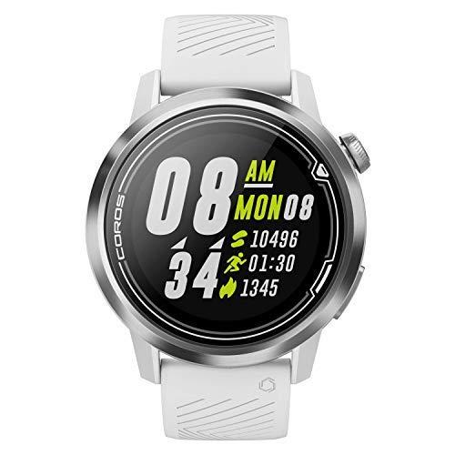COROS APEX Premium Multisport Watch - 46mm Black (White, 42mm)