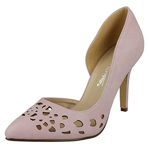 Anne Michelle Damen spitz zulaufende Schuhe, Violett - fliederfarben / violett - Größe: 39 EU