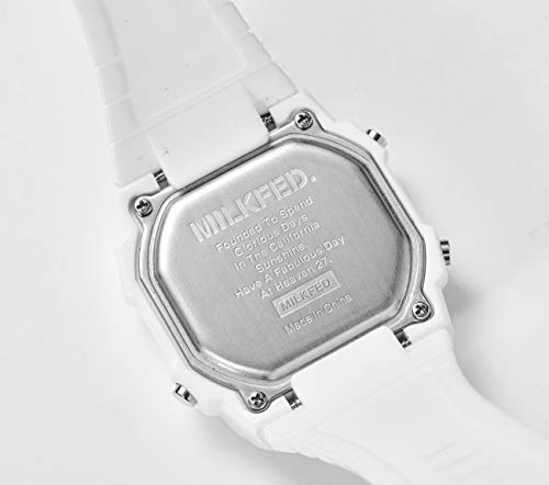 MILKFED. DIGITAL WATCH BOOK WHITE 商品画像