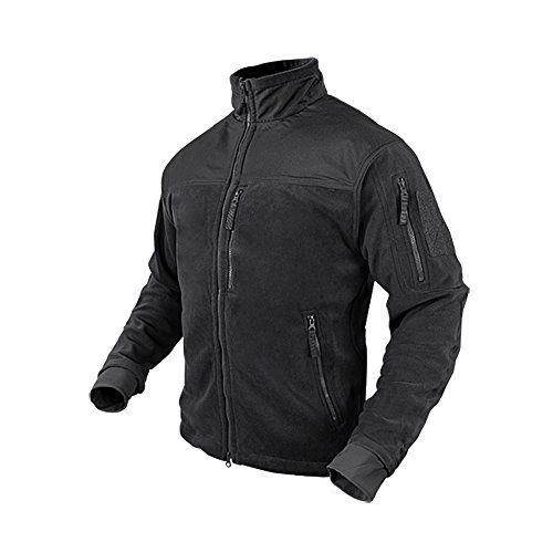 Condor Alpha Micro Fleece Jacket (Black, X-Large)