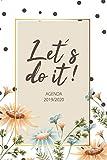 Agenda 2019 2020: Let's do it - Organiza tu día - Agendas Semana Vista, Calendario - Agenda semanal 15 meses - Octubre 2019 a Diciembre 2019