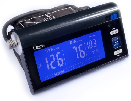 Ozeri BP3T Upper Arm Blood Pressure Monitor with Intelligent...