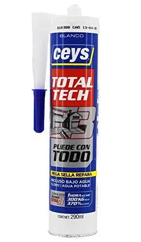 ceys Ms-Tech 290 ml, Blanco 507216, 0
