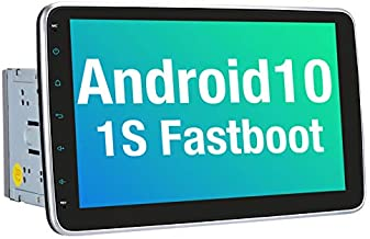Vanku 10.1 Inch Android 10 Car Stereo Double Din with Fastboot, Detachable Touchscreen, GPS, Support Backup Camera, Android Auto, Mirror Link