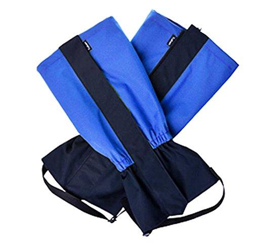 Black Temptation Randonnée/Escalade/Camping/Ski Chaussures Gaiter pour Enfants- Bleu