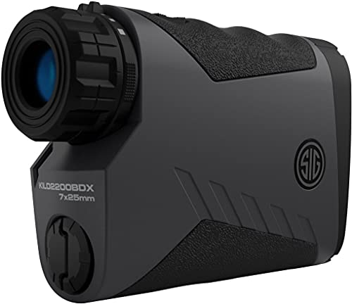 Sig Sauer Kilo 2200 BDX Laser Rangefinder 7x25 mm (3,400 Yards) - for Shooting,...