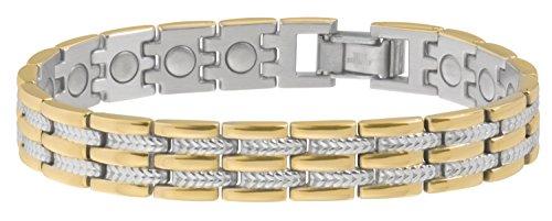 Sabona Executive Regal Duet Magnetic Bracelet - X-Large